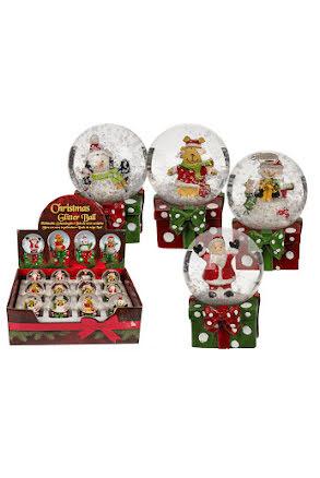 Snöglob Julfigurer