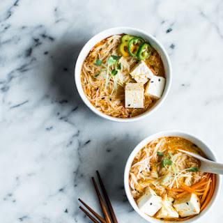 Curry Laksa with Tofu Recipe