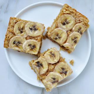 Baked Peanut Butter Banana Oatmeal.