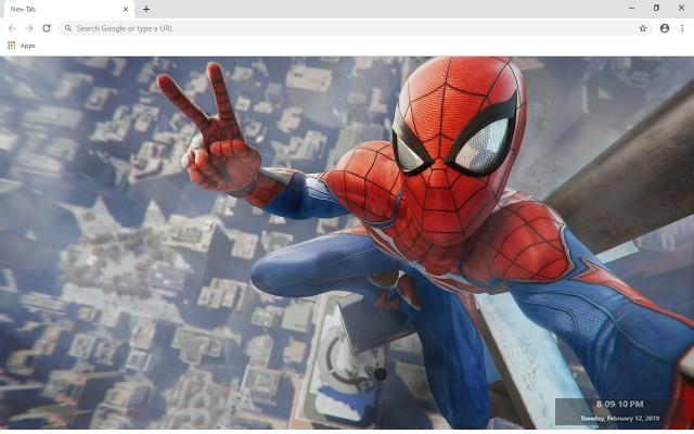 Marvel's Spider-Man Custom New Tab