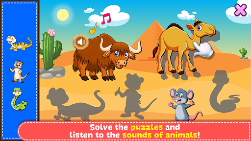 Coloring & Learn Animals - Kids Games screenshots 3