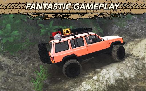 Offroad Cruiser Tough Driving 4x4 Simulation Game  captures d'écran 1