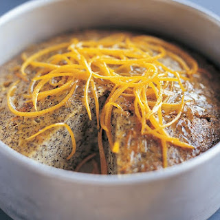 Orange Poppyseed Cake.