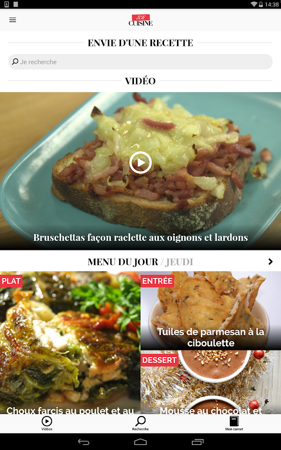 Cuisine : Recettes de cuisine - Android Apps on Google Play
