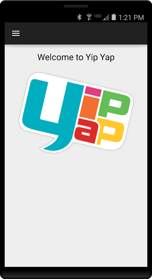 Yip Yap Smartphone App for Pipsqueak- screenshot