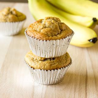 Banana Peanut Butter Oat Muffins.