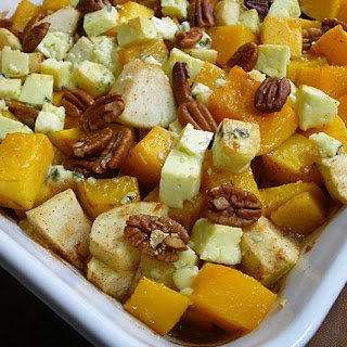 Roasted Butternut Squash and Sweet Apples