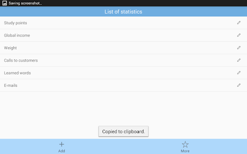 Statist - management by stats- screenshot thumbnail