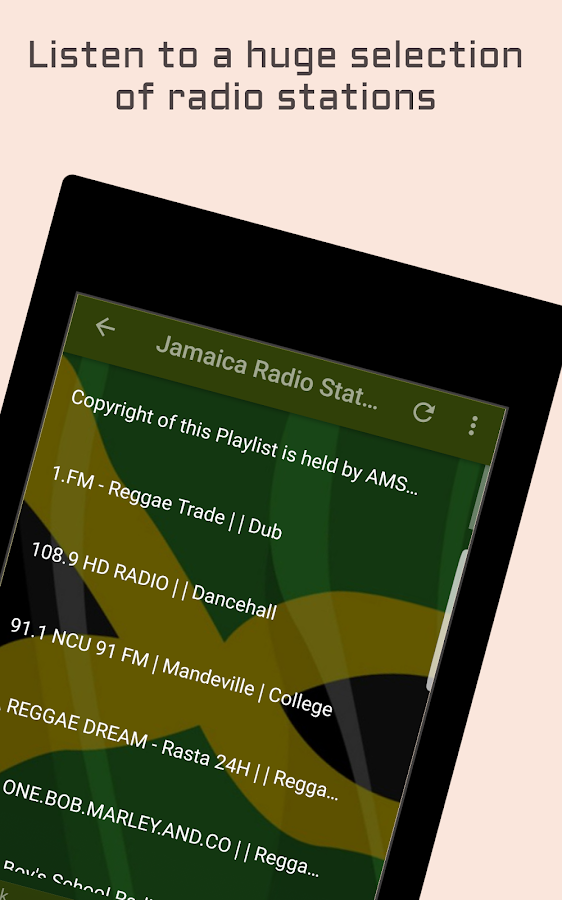 Jamaica Radio Music & News- screenshot