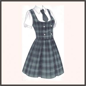マーサの制服(チェック)