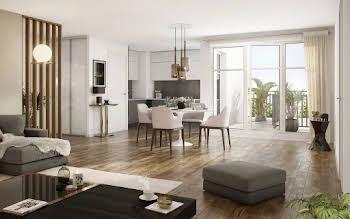 Appartement 4 pièces 83,8 m2
