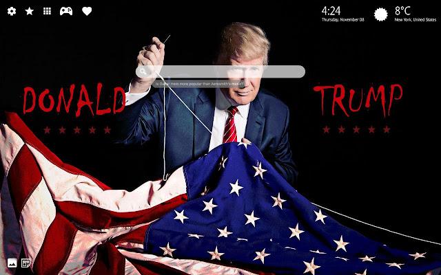 President Donald Trump Background Trump Theme