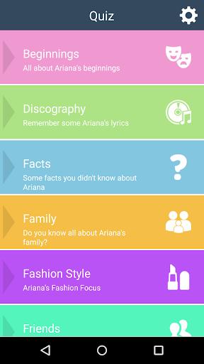 Ariana Grande Fan Quiz