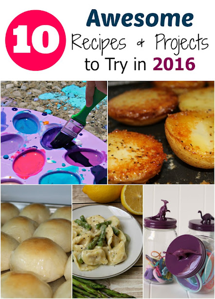 10 Awesome Recipes & DIY Projects to try in 2016!