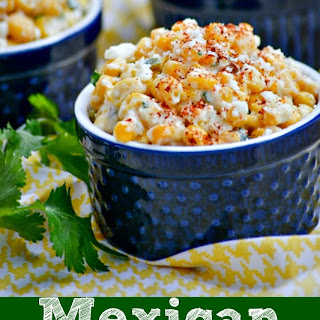 Mexican Street Corn Salad.