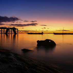 Namser sunset,,, by Firman Musa'ad - Landscapes Sunsets & Sunrises (  )