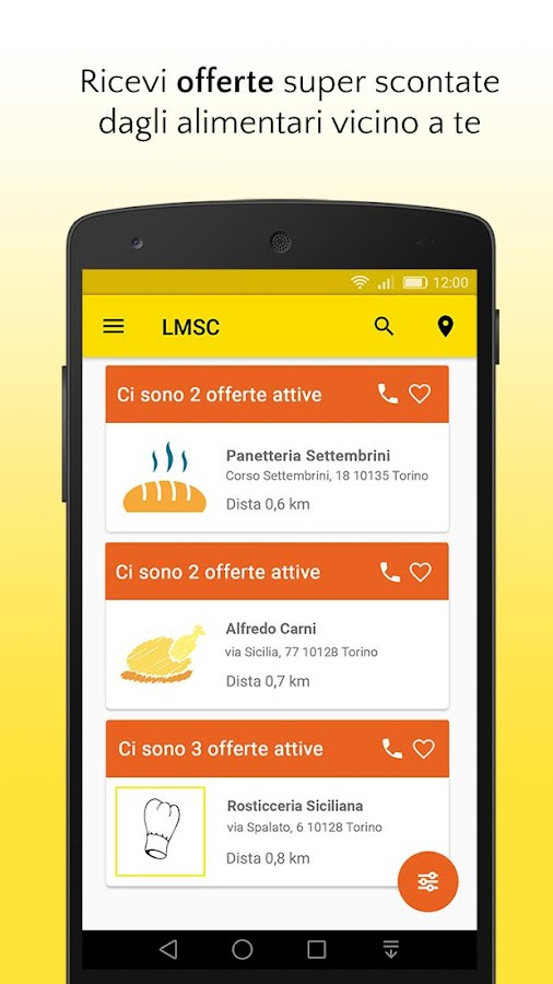 Last minute sotto casa app android su google play for App per progettare casa android