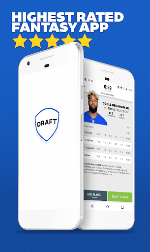 DRAFT: Daily & Season Long Fantasy Football Drafts Screenshot