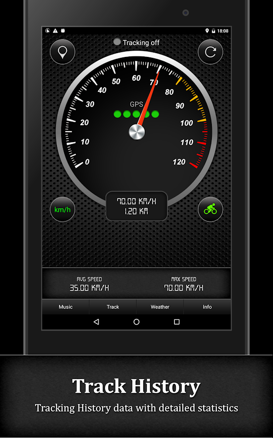 GPS Speedometer- screenshot
