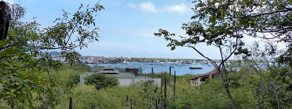 Photo: A view of the harbour, Puerto Baquerizo Moreno, Isla Cristobal