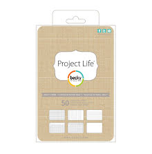 Project Life 4X6 Cards 50/Pkg - Kraft
