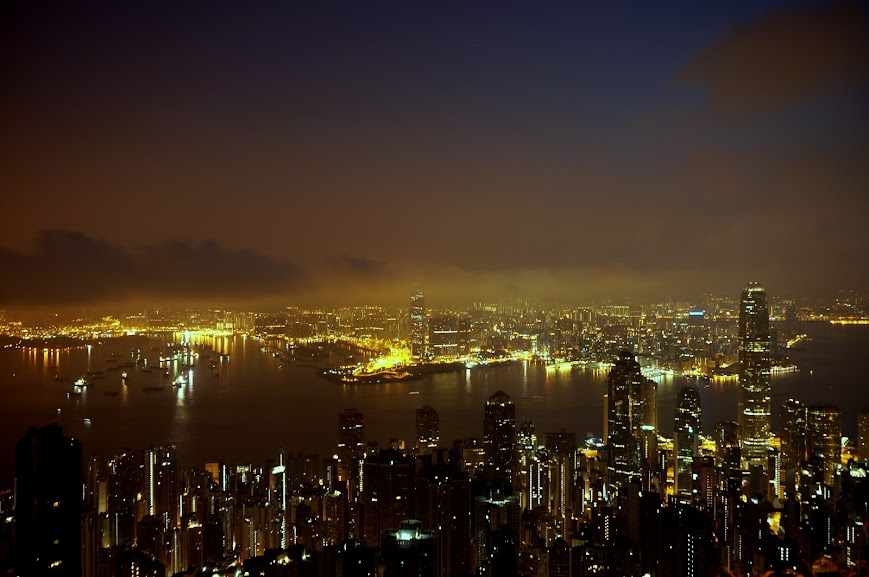 Hong Kong before sunrise