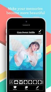 Sweet Selfie Camera Editor 2018 - náhled