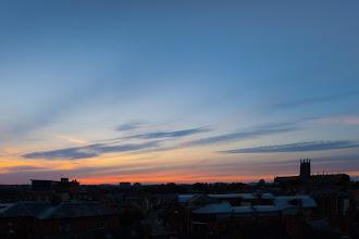 Photo: September 22nd sunset (Clive Haynes)