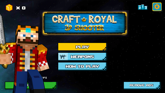Craft Royal 3D Shooter - náhled