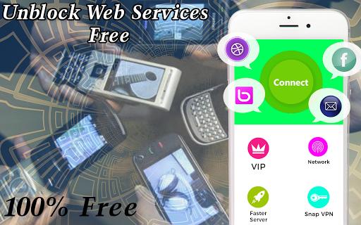 Vpn  Free Unlimited Proxy Master 1.0 screenshots 2