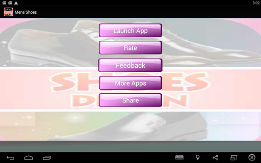 Men Shoe Designs