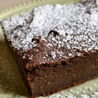 Fudgy Flourless Sweet Potato Protein Brownies