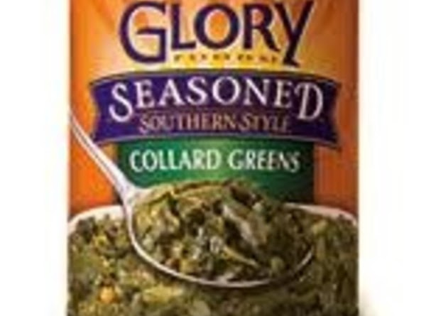 add 3 cans of drained collard greens
