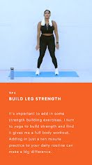 Build Leg Strength  - Instagram Story item