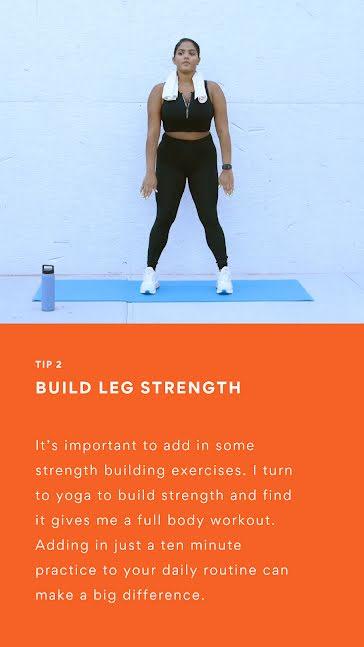 Build Leg Strength  - Instagram Story template