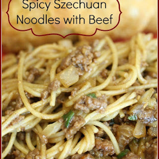 Spicy Szechuan Noodles Beef Recipe