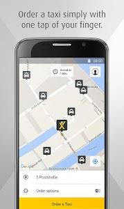 mytaxi – The Taxi App screenshot 0