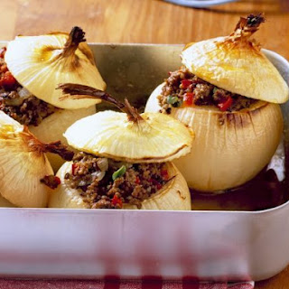 Baked Onions with Filling