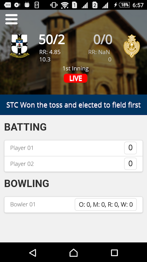 Royal Thomian Live- screenshot