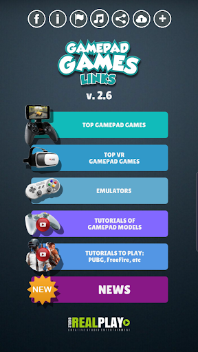 Gamepad Games Links by Real Play Studio (Google Play, United