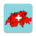 Cantons of Switzerland – Crests and Maps quiz icon