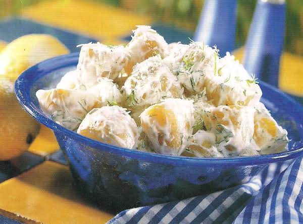 New Potato Salad With Creamy Dill Dressing