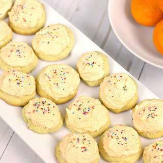 Orange Cookies Recipe