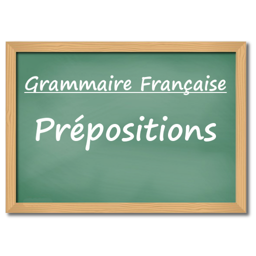 Prepositions - French Language Grammar Lessons Icon