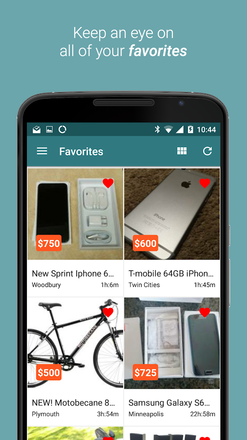 Postings (Craigslist App)- screenshot