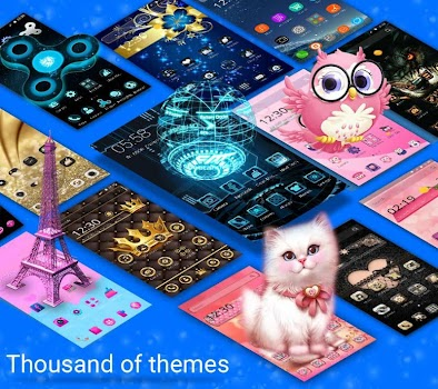 CM Launcher 3D - HD Theme and Live Wallpaper