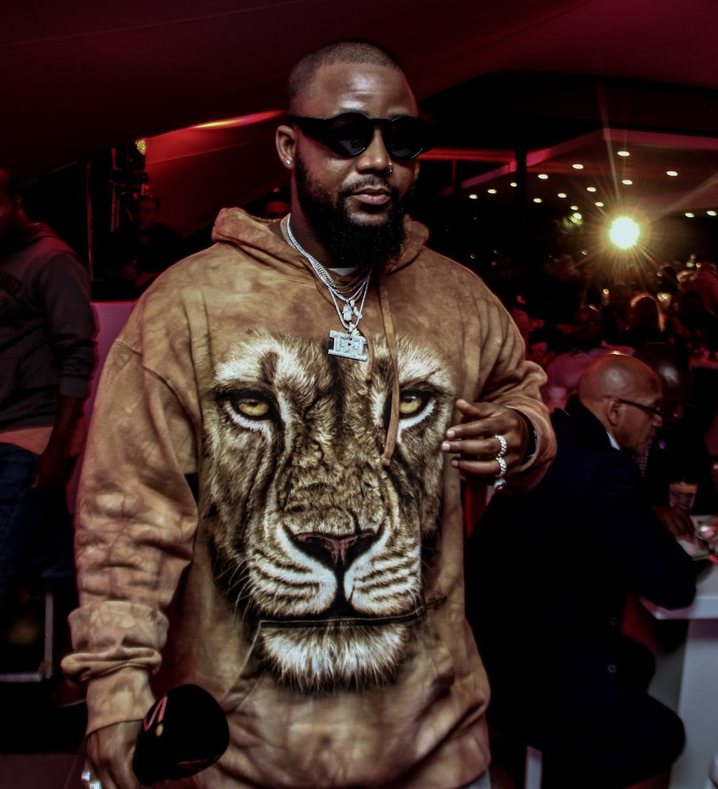 "Cassper ""Mufasa"" Nyovest at the 2018 FIFA World Cup launch."