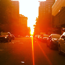 Photo: Manhattan Henge @ 26th Street