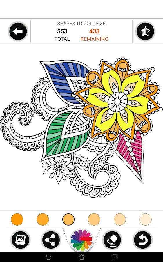 Free Coloring Book - ColorZen - Android Apps on Google Play