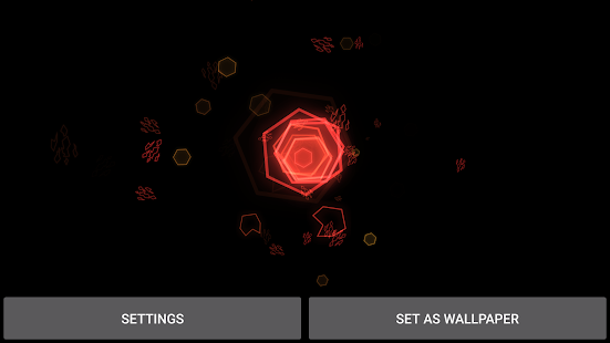 Retro Particles Live Wallpaper Screenshot